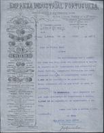 Carta Da Empresa Indústrial Portuguesa. Fundição De Metais.Construtores Navais.Máquinas Da Agricultura E Indústria.Rare - Portugal
