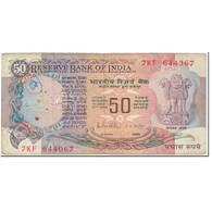 Billet, Inde, 50 Rupees, 1983, Undated (1983), KM:84d, TB - Inde