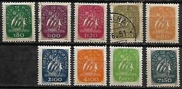 Portugal 1948-49 Caravela, Série Completa MF696/704 Novos Com Charneira / Usados - 1910-... Republic