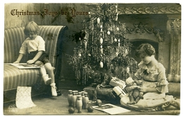 CHRISTMAS JOYS BE YOURS : CHILDREN PLAYING WITH PRESENTS - Natale