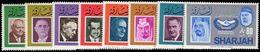 Sharjah 1966 ICY Set Unmounted Mint. - Sharjah