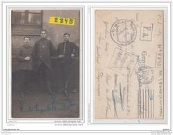 9688  AK/PC/CARTE PHOTO 2845 POSTCARD W.W.1 CAMP DE PRISONNIERS A ZWICKAU GROUPE DE SOLDATS CACHET - Zwickau