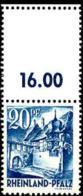 Allemagne Zone Francaise (Rheinland-Pfalz) Poste N** Yv: 7 Mi:7 Sankt-Martin Bord De Feuille - Zona Francese