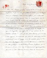 Lettre De Venise (4pages) D'Henri D'Artois (1820-83),Prince De La Famille Royale De France. - Historische Documenten