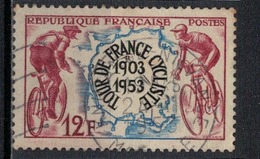 FRANCE      N° YVERT  :     955                   OBLITERE - Oblitérés