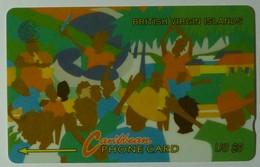 BRITISH VIRGIN ISLANDS - GPT - 17CBVA - $5 - BVI-17A - Carnival 1 - Used - Virgin Islands