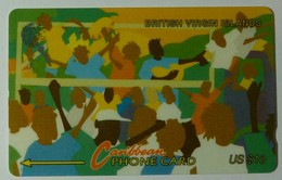BRITISH VIRGIN ISLANDS - GPT - 17CBVB - $10 - BVI-17B - Carnival 2 - Used - Virgin Islands