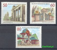Berlin Germany 1986 Mi 761-763 MNH ( ZE5 DBE761-763 ) - Architecture