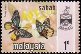MALAYA SABAH - Scott #24 Delias Ninus / Mint H - Sabah