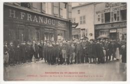 ° 52 ° JOINVILLE ° INONDATION DU 20 JANVIER 1910 ° Carrefour Des Rues De La Fontaine Et Du Grand Pont à 4 H Du Soir ° - Joinville