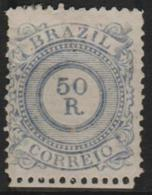 BRAZIL - 1887 50r Numeral. Scott 93. Mint - Ongebruikt