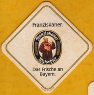Sous-bock Cartonné - Bière - Allemagne - Franziskaner Weissbier - Das Frische An Bayern - Beer Mats