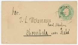 Half Anna Umschlag Nach CHAMBALA - Inde