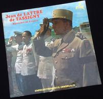 Vinyle 33 Tours  Jean De Lattre De Tassigny   Maréchal De France  Enregistrements Originaux - Vinyl Records