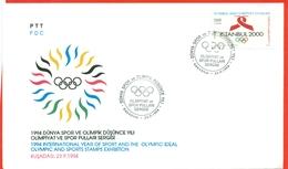 Olympic Games. Summer 2000.Sydney.Turkey 1993. FDC. - Summer 2000: Sydney