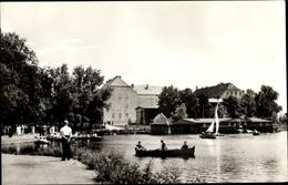 Cp Szczecinek Neustettin Pommern, Uferpromenade, Schloss, Segel- U. Ruderboote - Pommern