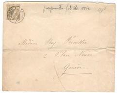 10178 - Tarif  2 C Intra  Muros - 1882-1906 Armarios, Helvetia De Pie & UPU