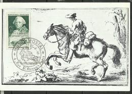 N° 828, Choiseul, Journée Du Timbre 1949, Premier Jour De Paris - Briefe U. Dokumente