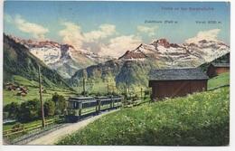 SERNFTAL-BAHN Linie Schwanden Matt Engi Elm - GL Glaris