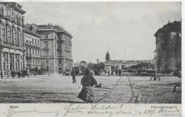 AK 0087  Wien - Schwarzenbergplatz Um 1902 - Wien Mitte