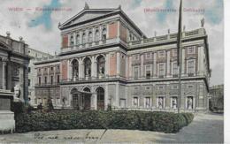 AK 0087  Wien - Konservatorium ( Musikvereins-Gebäude ) Um 1910 - Wien Mitte