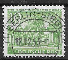 Berlin 1949 / MiNr.     47   Stempel   12.12.1953     O / Used  (f2047) - Gebraucht