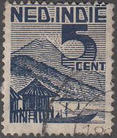 NETHERLANDS INDIES     SCOTT NO  266    USED     YEAR  1946 - Indes Néerlandaises