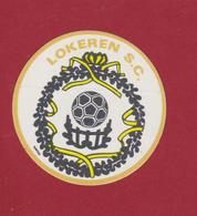 Football Voetbal SC KSC Lokeren Sticker Adesivo Aufklever Autocollant Logo - Sports