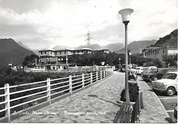 B033 - SAN CARLO TERME - MASSA - PASSEGGIATA PANORAMICA - F.G. NON VIAGGIATA - Massa