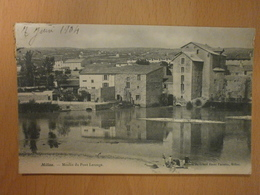 12 Millau, Moulin Du Pont Lerouge (laveuses, Lavandières) (5059) - Millau