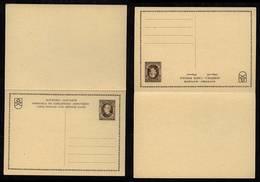 Slowakei Slovakia Fragekarte P5 ** Hlinka 1939 - Storia Postale