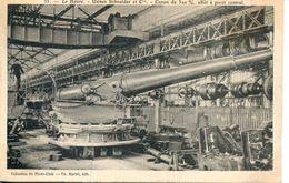 N°66813 -cpa Le Havre -canon De 320 M/m- -usine Schneider- - Equipment