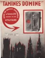 Les FONDERIES & POÊLERIES De TAMINES  Vers 1935 Publicité - Publicités