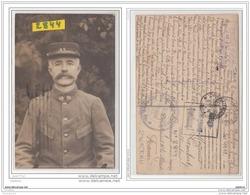 9689  AK/PC/CARTE PHOTO POSTCARD W.W.1 CAMP DE PRISONNIERS A ZWICKAU PORTRAIT DU SOLDAT DU 45° REGIMENT CACHET - Zwickau