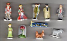 RARE Série Complète PERSO Banette 10 Fèves Brillantes LE PETIT PRINCE De SAINT-EXUPERY 2005/2006 - Strips