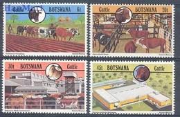 Botswana 1981 Mi 283-286 MNH ( ZS6 BTS283-286 ) - Agriculture