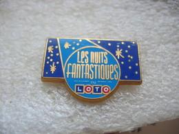 Pin's Des Nuits Fantastiques Du LOTO - Games