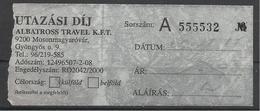 Hungary, AlbatrossTravel, Coach Ticket . - Bus
