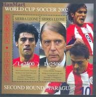 Sierra Leone 2002 Mi Bl 557 MNH ( ZS5 SRRbl557 ) - Coupe Du Monde