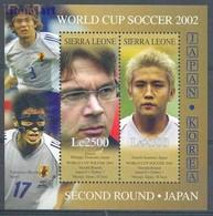 Sierra Leone 2002 Mi Bl 562 MNH ( ZS5 SRRbl562 ) - Coupe Du Monde