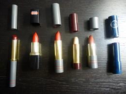 6 ETUIS  ROUGE à LEVRES Anciens , De La Marque :ROUGE BAISER - Beauty Products