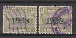MiNr. ??? Guatemala, Mit Aufdruck 1938 In Schwarz - Guatemala