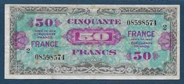 France - Billet De 50 F  ( Verso France )  Série 2 - Treasury