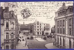 ARRAS Rue Gambetta Vers La Gare 1906 :Très Très Bon état : --2185/ - Arras