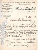 FILETS DE PËCHE .-Marcellin.MONDIET -Ares Gironde 1917 - France