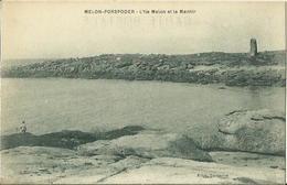 CPA De MELON PORSPODER - L'Ile Melon Et Le Menhir (Edit. Campion). - Autres Communes