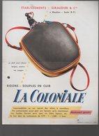 Mauléon-Soule (64 Pyrénées Atlantiques) GIRAUDIER Bidon Souple  La Coloniale  (PPP9792) - Pubblicitari