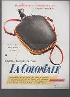 Mauléon-Soule (64 Pyrénées Atlantiques) GIRAUDIER Bidon Souple  La Coloniale  (PPP9792) - Advertising