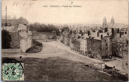 08 SEDAN - Vue De La Place Du Château. - Sedan
