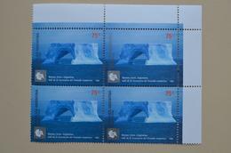 Argentina 2005 Bloc 4 MNH Traité Antarctique Argentine Tratado Antartico Iceberg - Antarctic Treaty